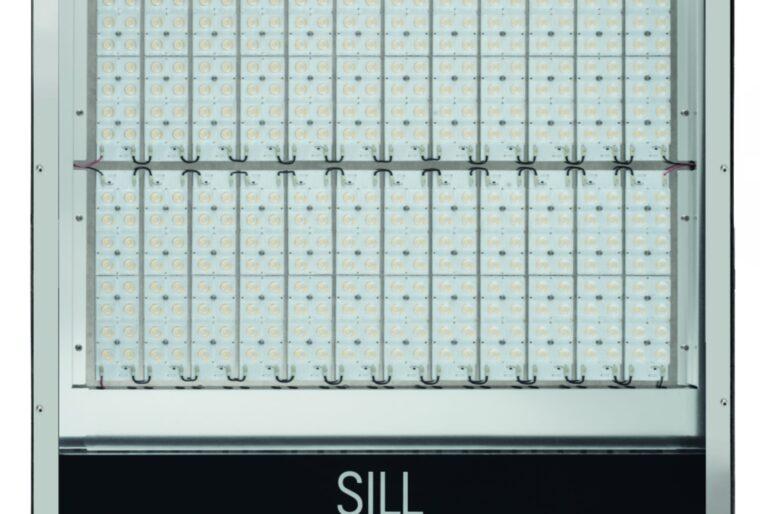 SILL asymmetrische LED vlakstraler type 177 - Black Edition