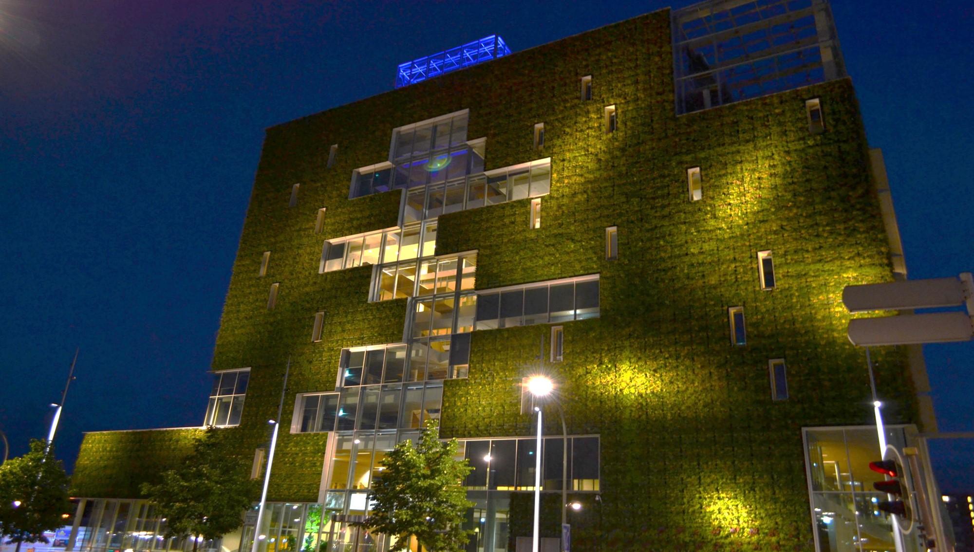 Illuminatie stadskantoor Venlo