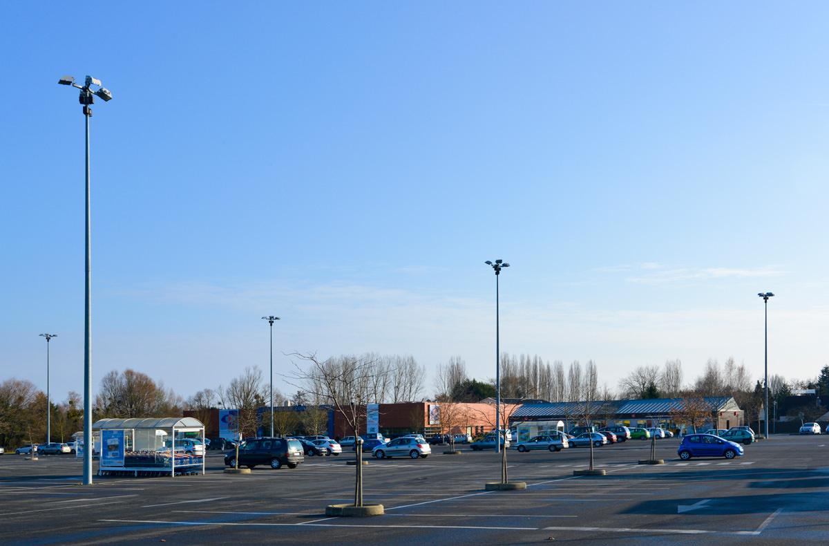 Parkeergarages - truck parkings