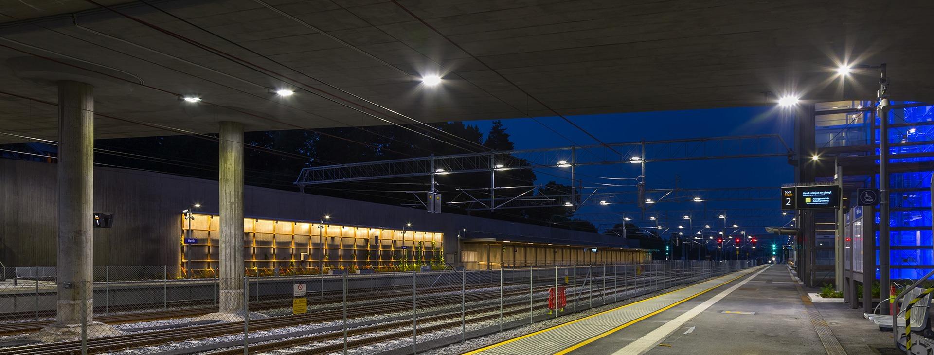 Spoortunnel - stations - emplacementen