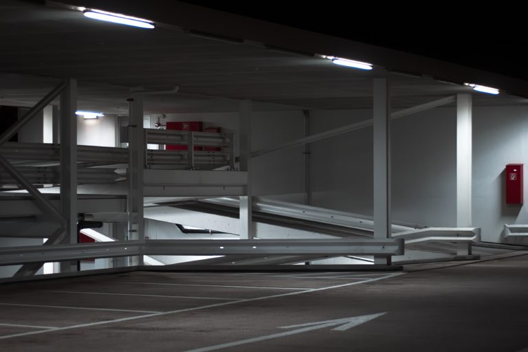 Parkeergarages - truck parkings