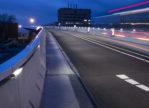 Busbrug Zwolle nu verlicht