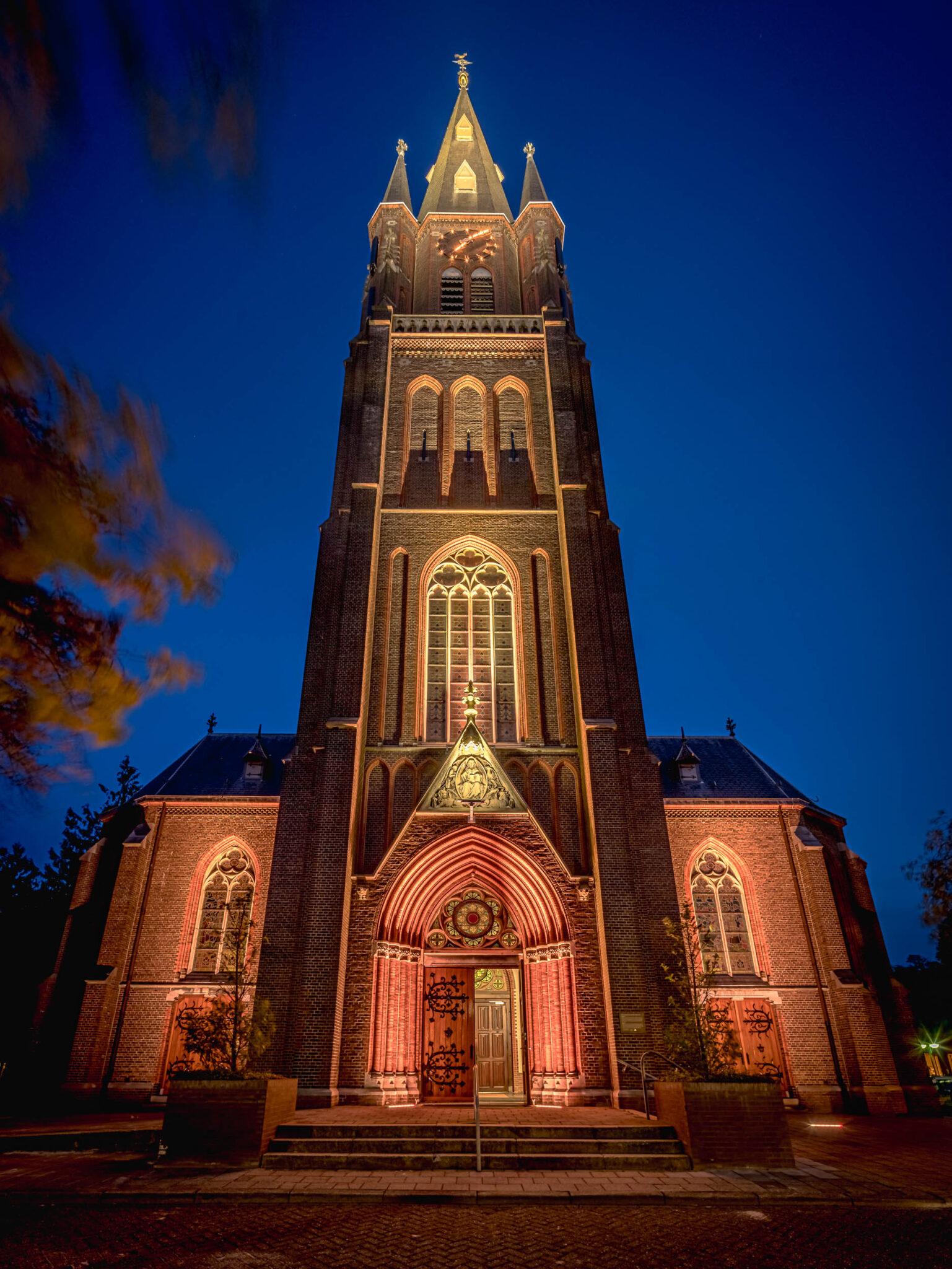 Illuminatie kerk Budel