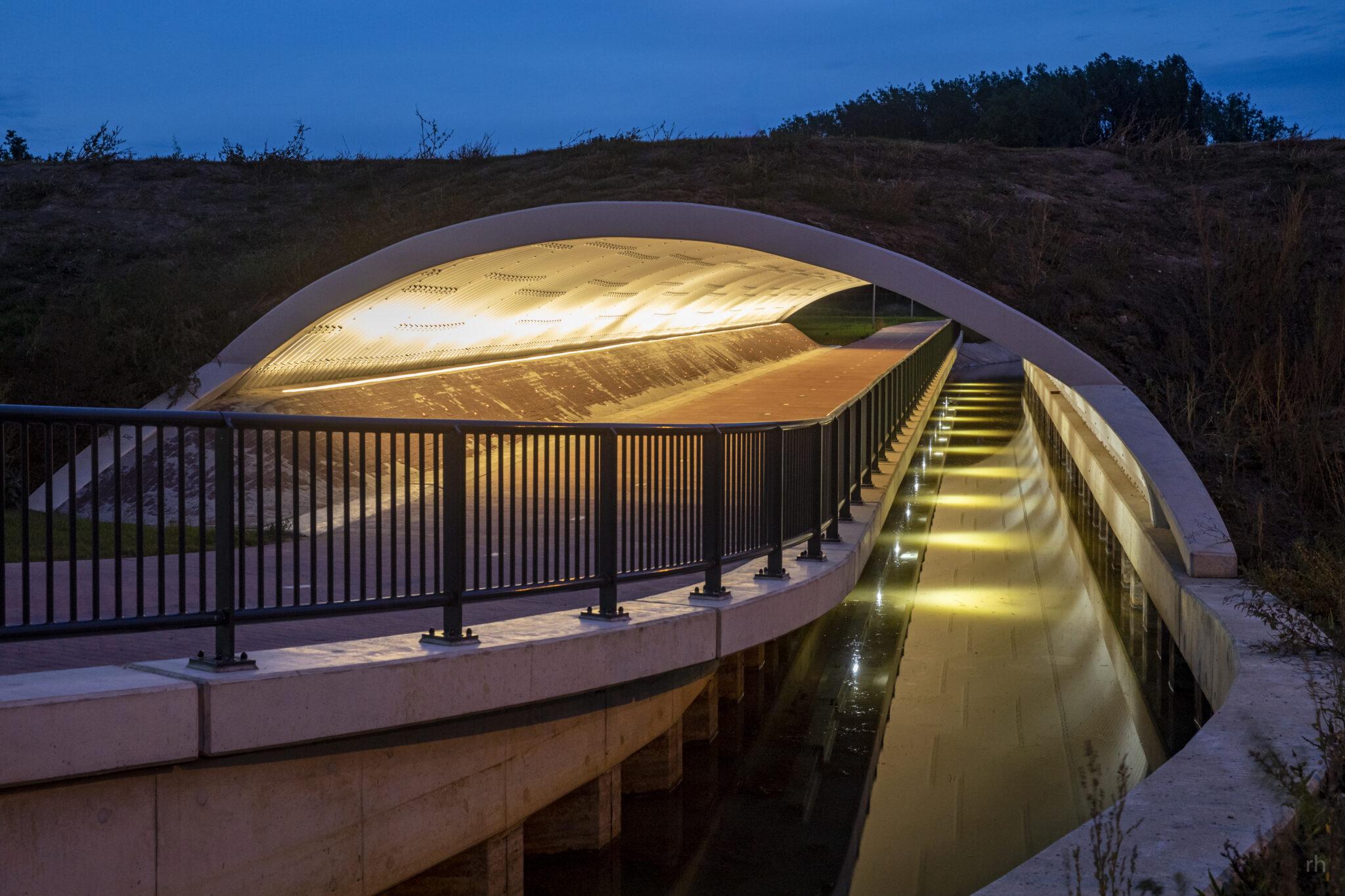Verlichting fietstunnel Zevenaar