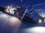 Marine LED armaturen voor onderzoeksschip