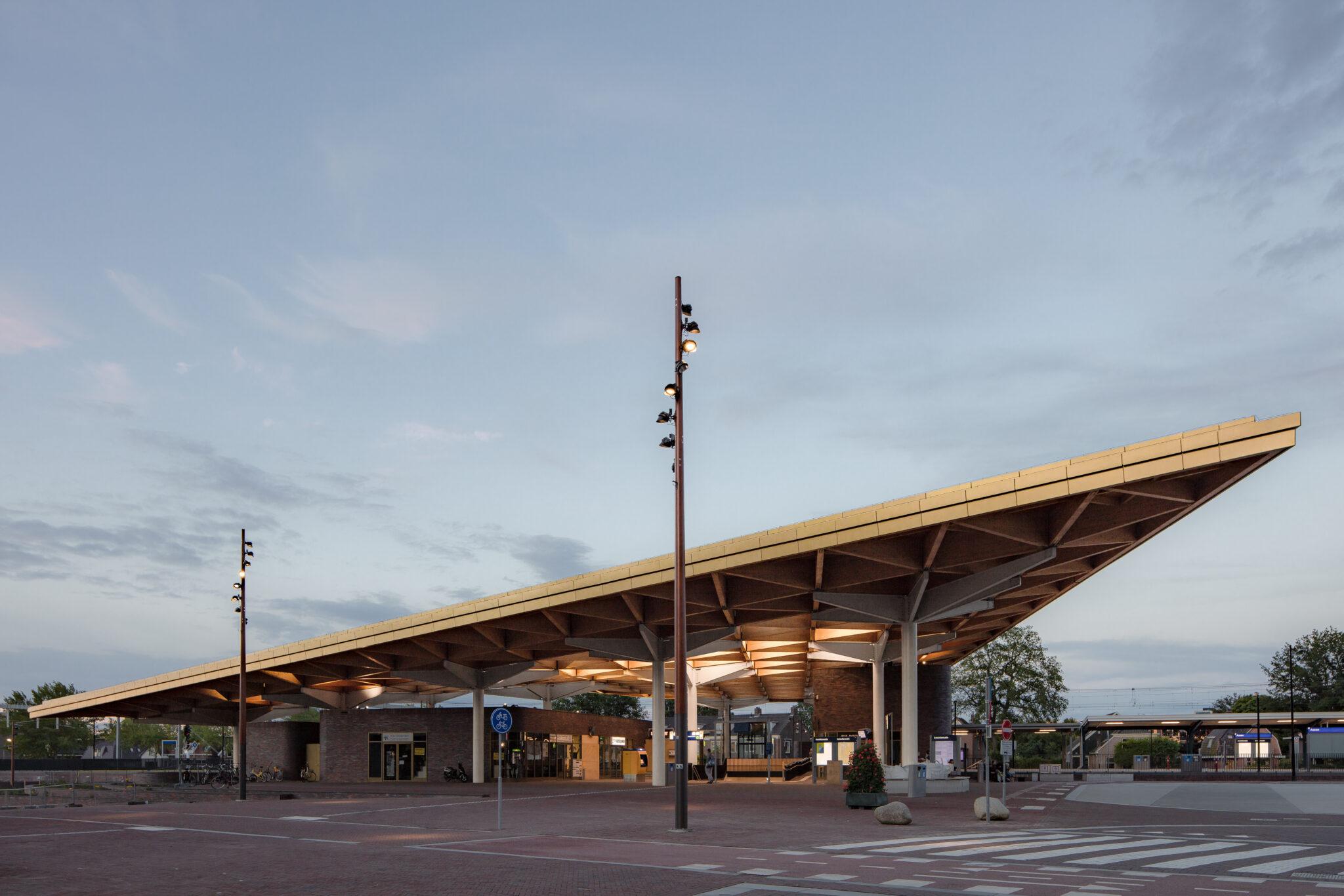 Levend licht stationsgebied Assen
